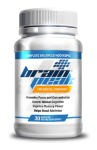 Brain Peak Nootropic supplement