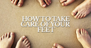 Take care of your feet for better performance