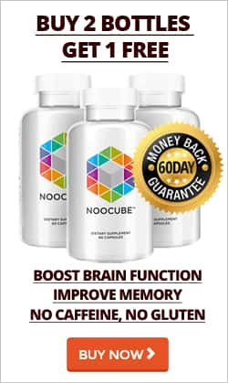 Buy 2 Bottle of NooCube and get 1 free