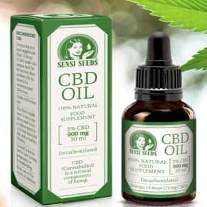 CBD Oil bottle